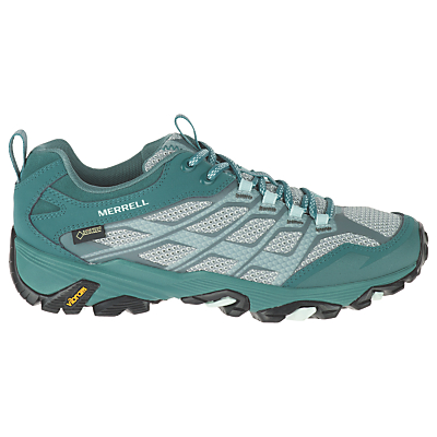 Merrell Moab FST GTX Waterproof Women's Walking Shoes, Green