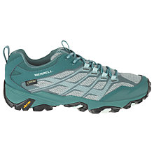 Buy Merrell Moab FST GTX Waterproof Women's Walking Shoes, Green Online at johnlewis.com