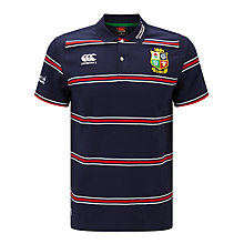 Buy Canterbury of New Zealand British and Irish Lions Rugby Polo Shirt, Blue Online at johnlewis.com