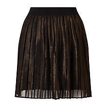 Buy Numph Stefana Pleated Skirt, Copper Online at johnlewis.com