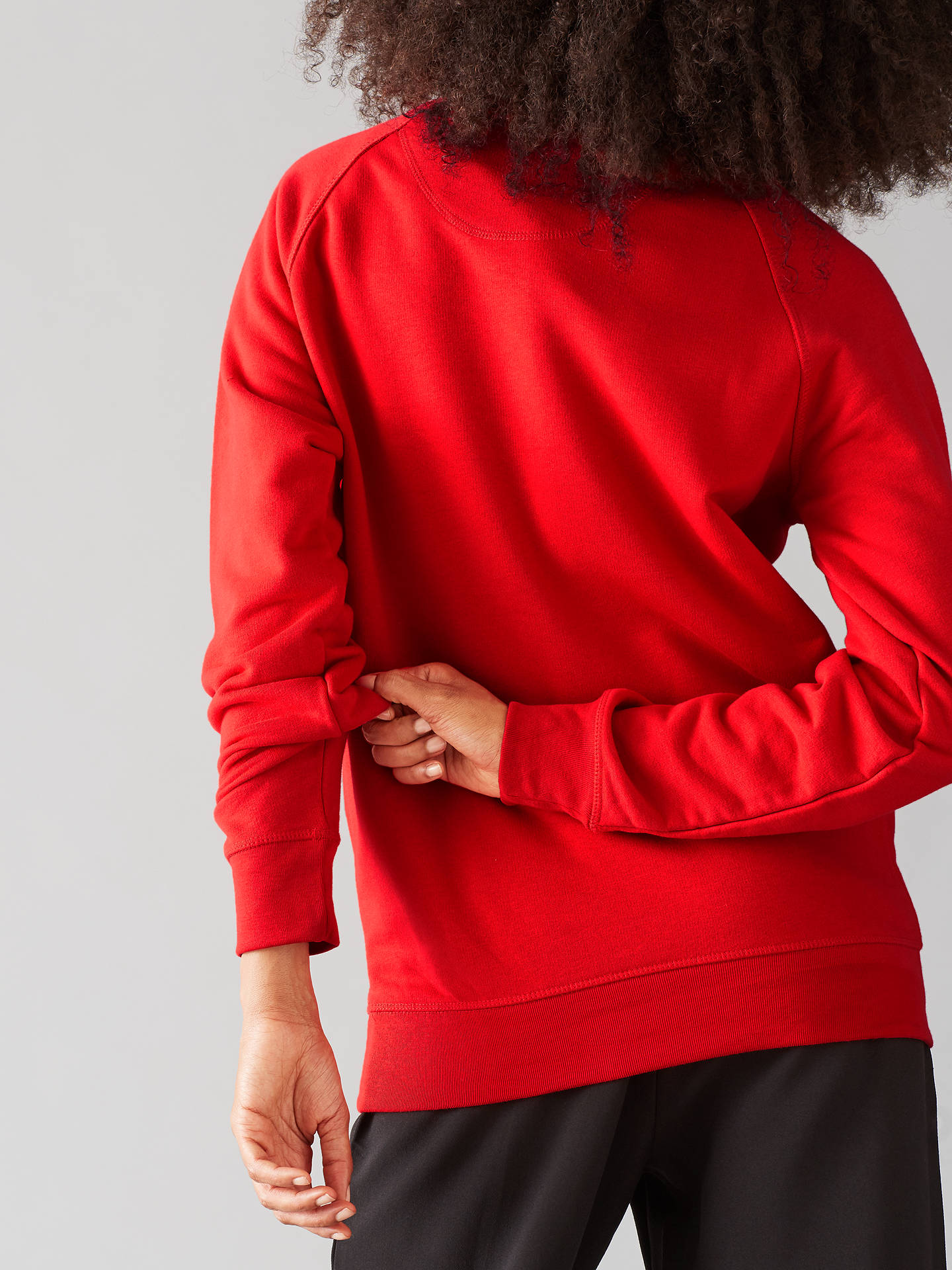 Buy Selfish Mother Super Human Crew Neck Sweatshirt, Red/Gold, S Online at johnlewis.com