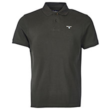 Buy Barbour Sports Polo Top, Forest Online at johnlewis.com