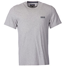 Buy Barbour International Small Logo T-Shirt, Grey Marl Online at johnlewis.com