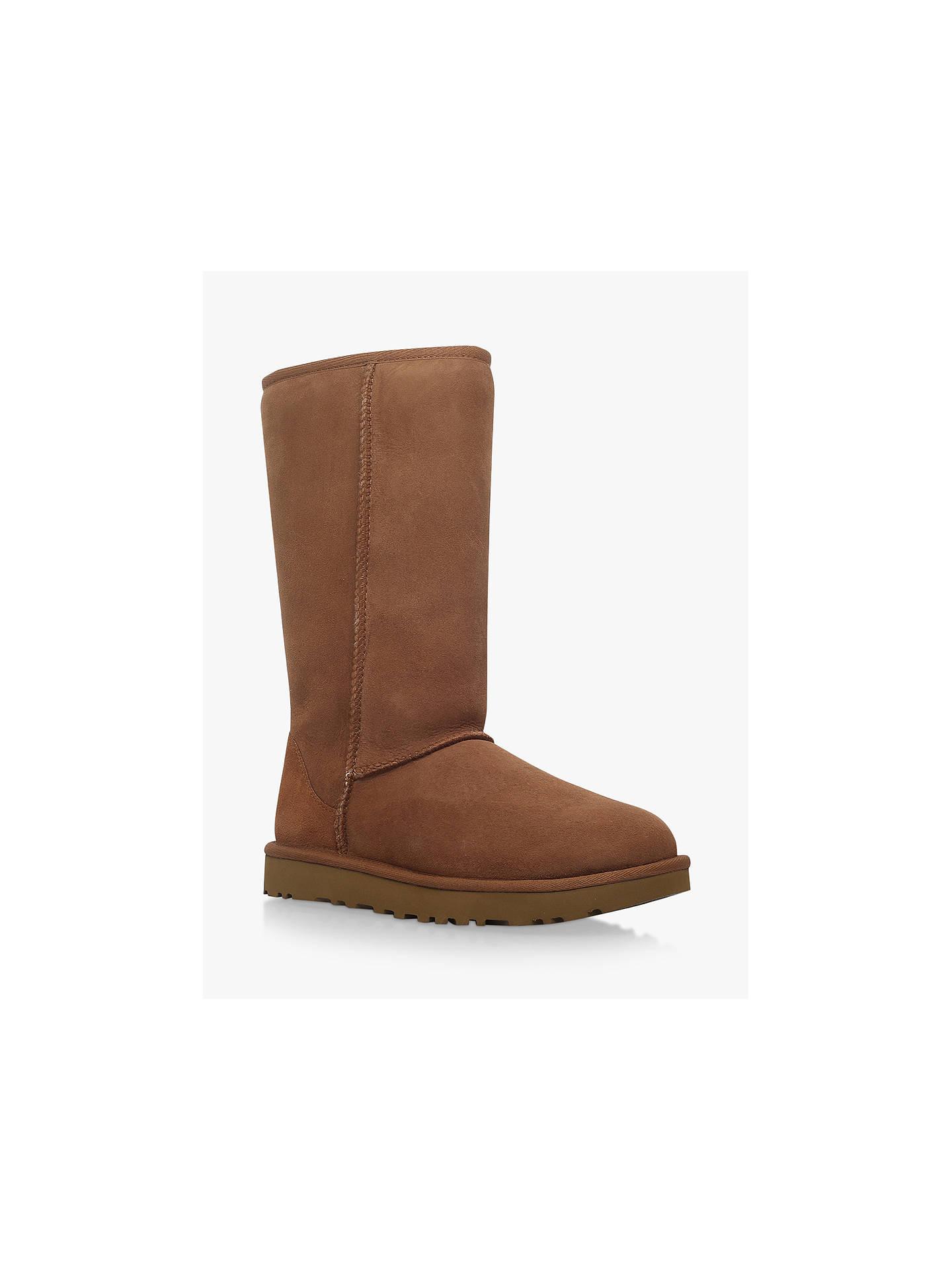 ee52f048a89 UGG Classic II Tall Sheepskin Knee High Boots, Chestnut