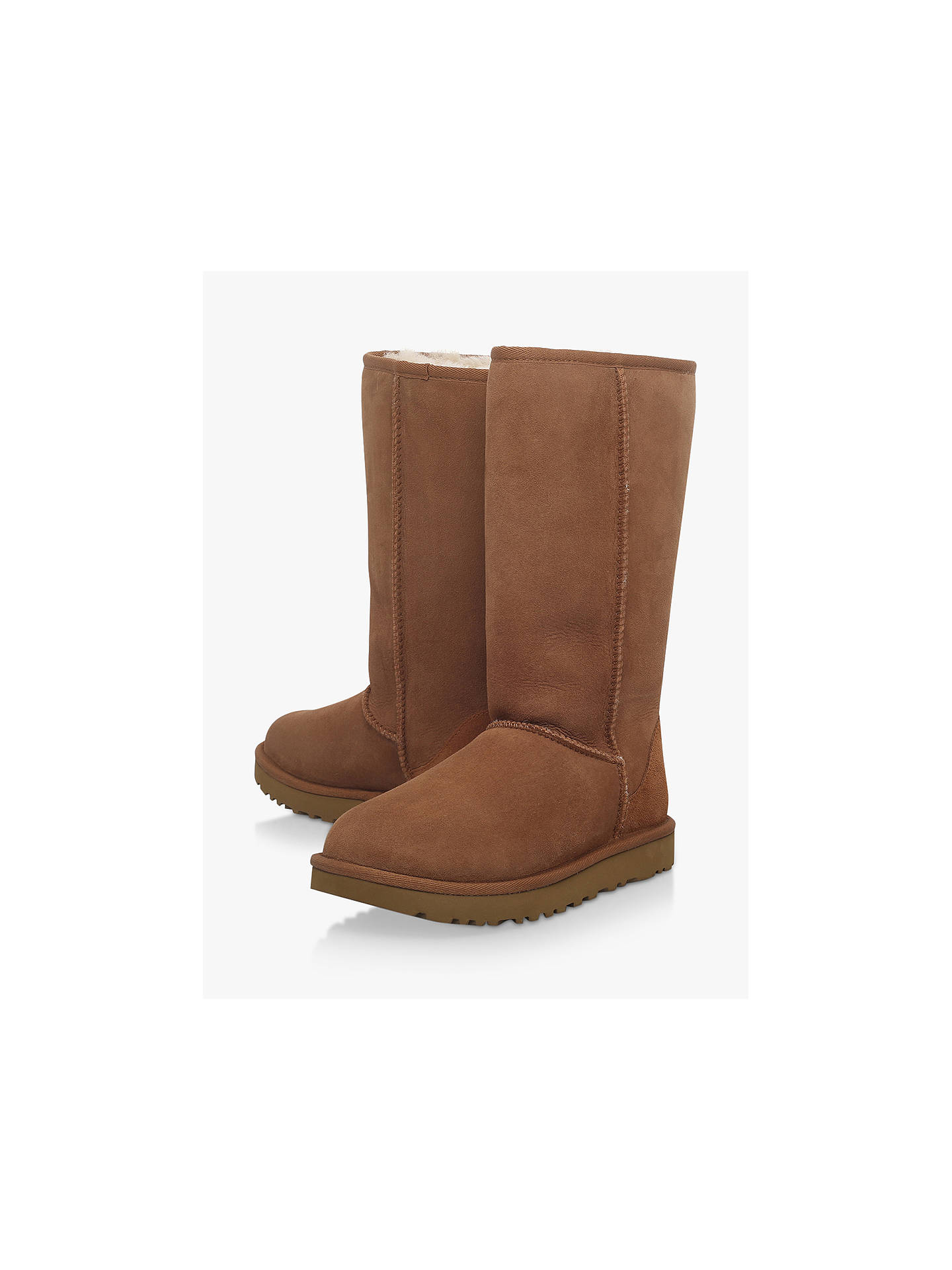 45f38cb775a3 UGG Classic II Tall Sheepskin Knee High Boots at John Lewis   Partners