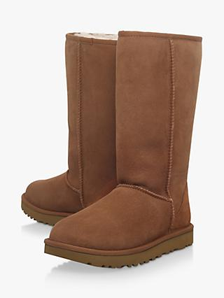 UGG Classic II Tall Sheepskin Knee High Boots