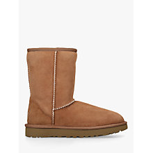 Buy UGG Classic II Short Sheepskin Ankle Boots Online at johnlewis.com