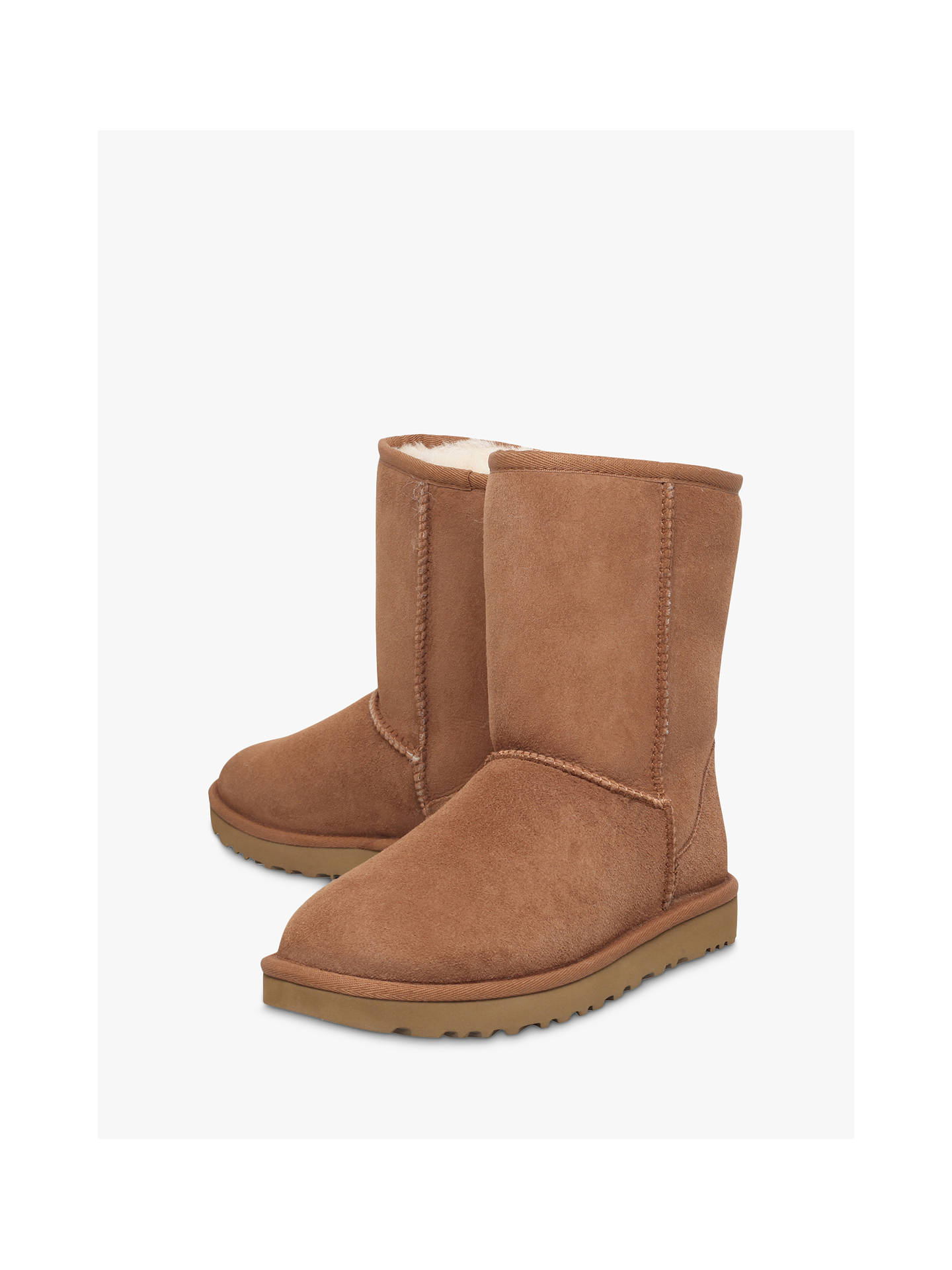 cdfb3a1813c UGG Classic II Short Sheepskin Ankle Boots, Chestnut
