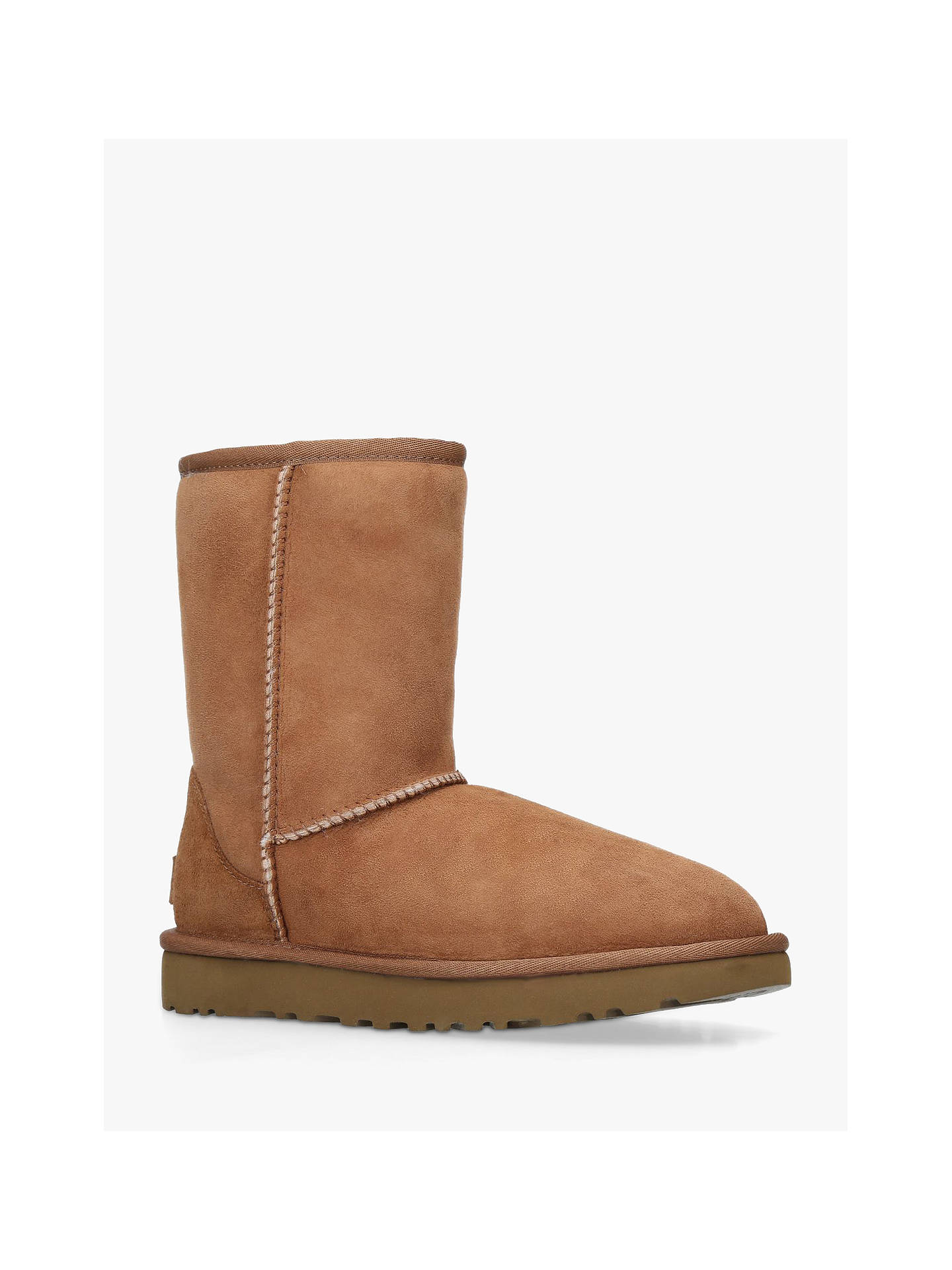a0794831056 UGG Classic II Short Sheepskin Ankle Boots, Chestnut