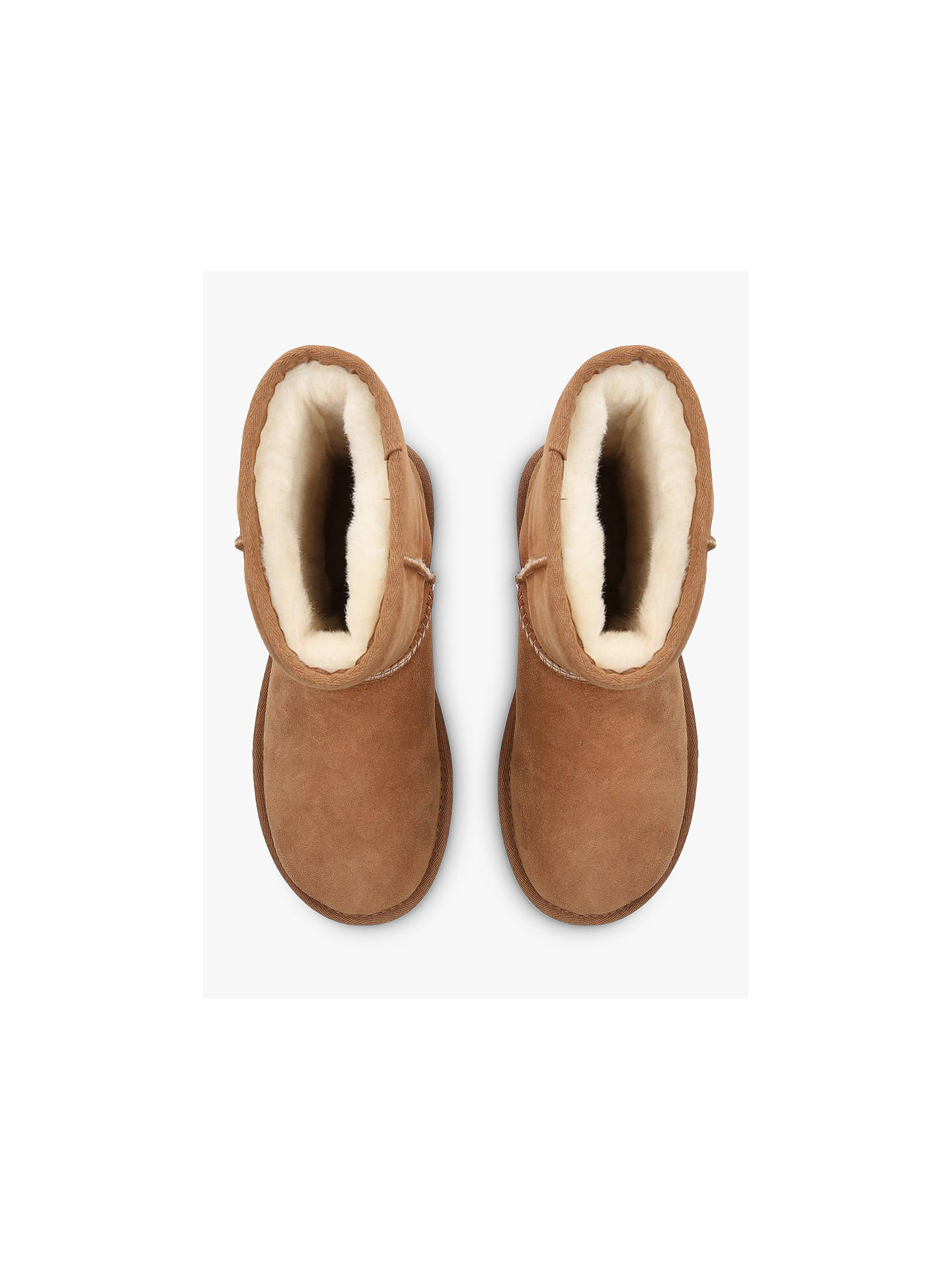 534bda59862 Buy UGG Classic II Short Sheepskin Ankle Boots, Chestnut, 6 Online at  johnlewis.
