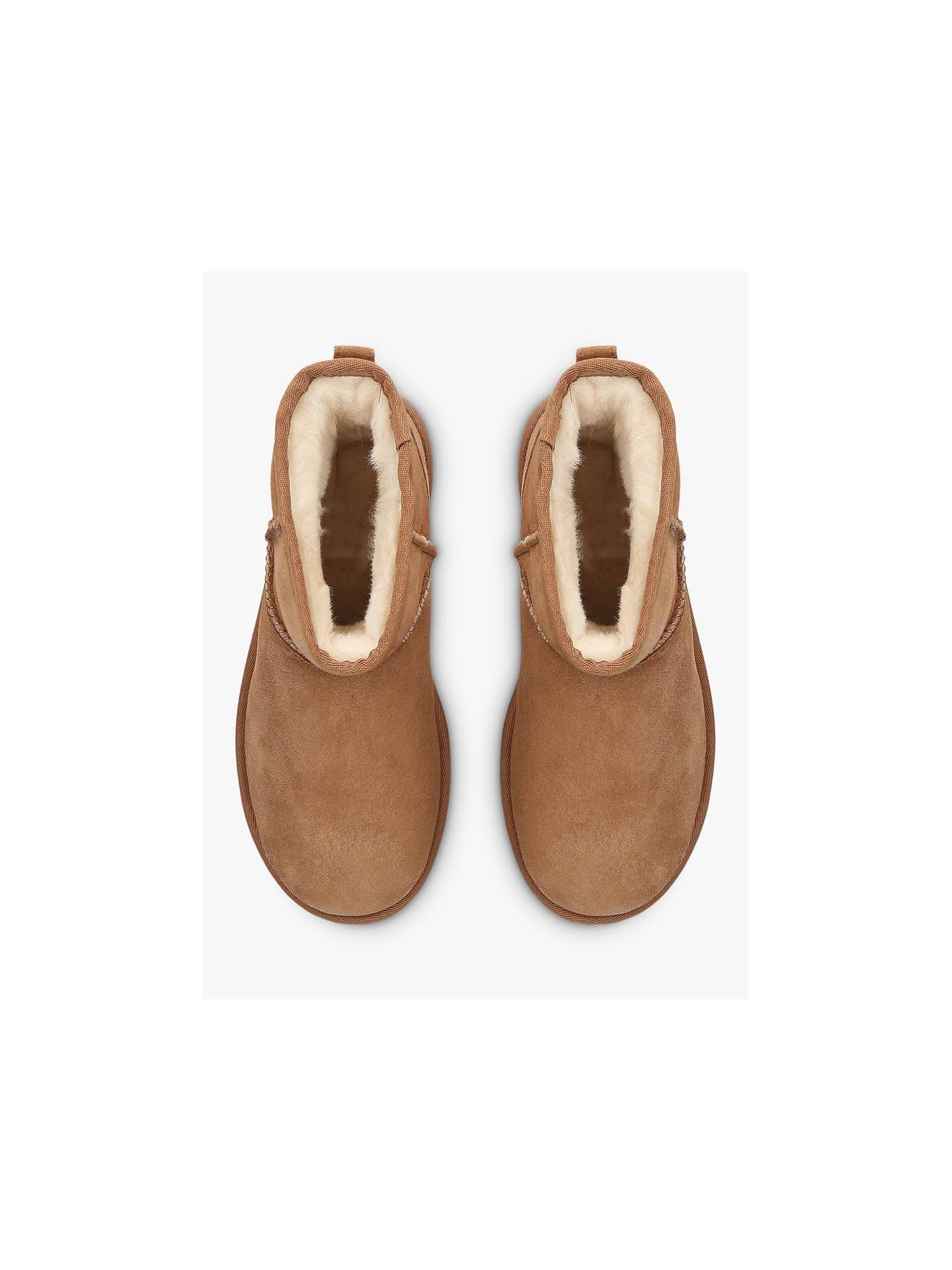 ugg classic ii mini sheepskin ankle boots at john lewis partners rh johnlewis com