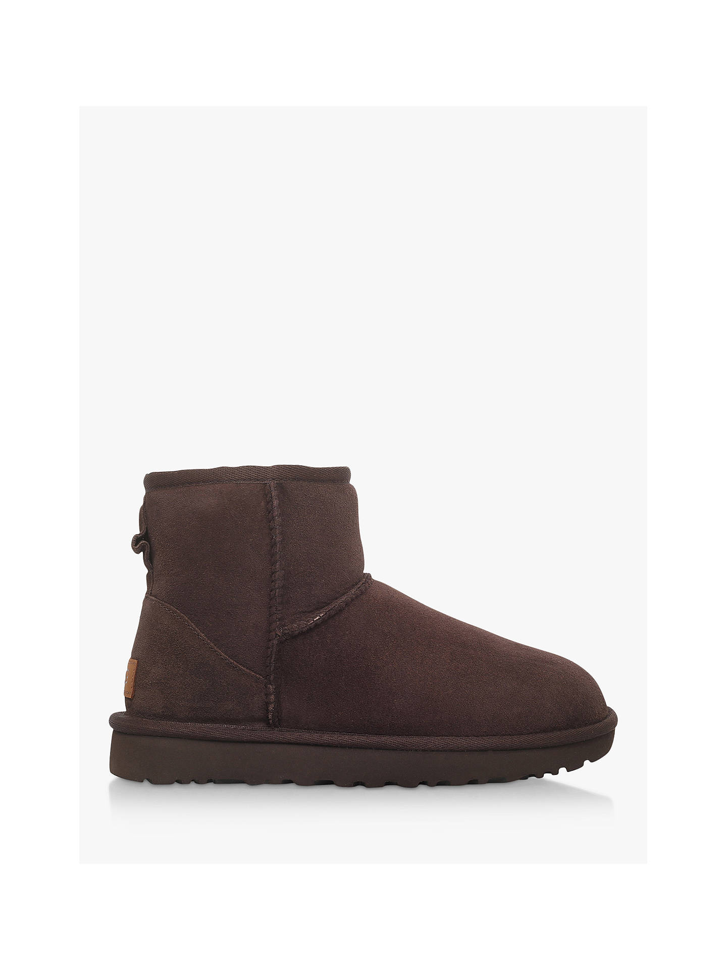 f9124d6bbdc Buy UGG Classic II Mini Sheepskin Ankle Boots, Chocolate, 3 Online at  johnlewis.