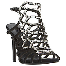 Buy Dune Moonstone Stiletto Cage Sandals Online at johnlewis.com