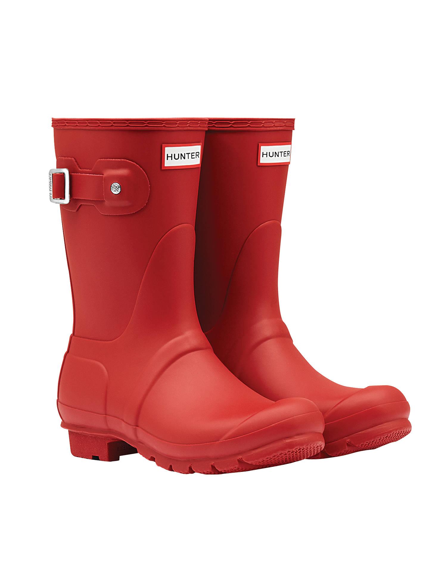 Hunter Women's Original Short Matte Wellington Boots
