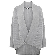 Buy Warehouse Asymmetric Wrap Cardigan Online at johnlewis.com