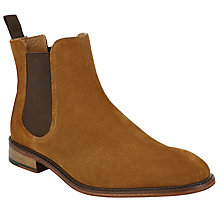 Buy John Lewis Chester Suede Chelsea Boot, Cognac Online at johnlewis.com