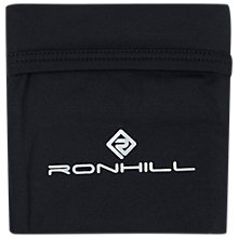 Buy Ronhill Running Stretch Waistpocket, Black/Charcoal Online at johnlewis.com