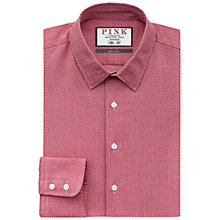 Buy Thomas Pink Lincoln Texture Slim Fit Shirt, Red/White Online at johnlewis.com