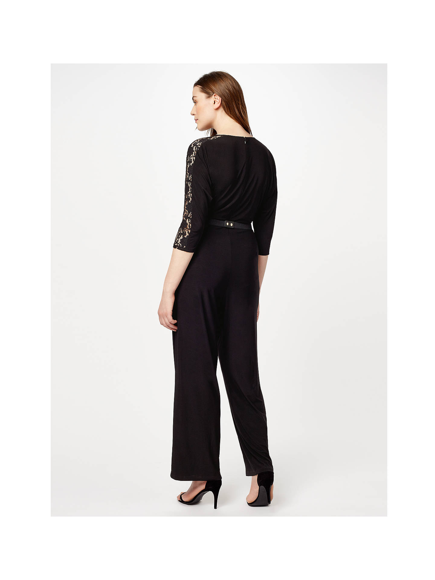 Buy Studio 8 Ember Jumpsuit, Black, 24 Online at johnlewis.com