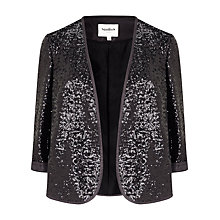 Buy Studio 8 Brooke Sequin Jacket, Black Online at johnlewis.com