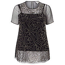 Buy Studio 8 Zita Top, Black Online at johnlewis.com