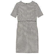 Buy Precis Petite Jade Jersey Checked Dress, Multi Online at johnlewis.com