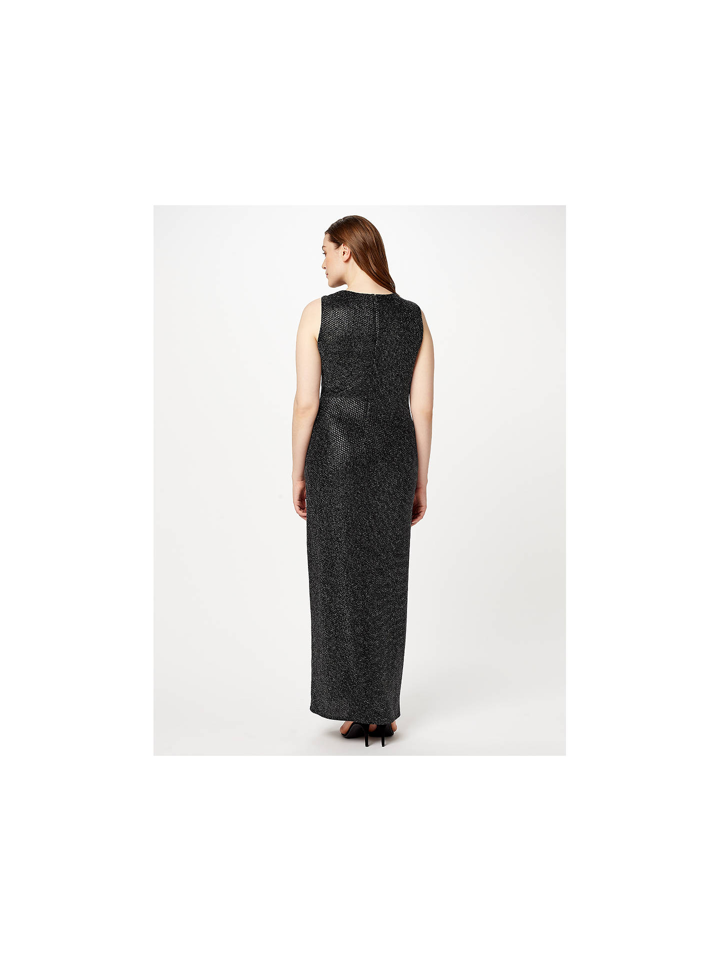 BuyStudio 8 Tilly Maxi Dress, Silver, 26 Online at johnlewis.com