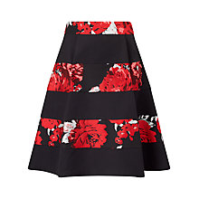Buy Studio 8 Agnese Skirt, Red/Black Online at johnlewis.com