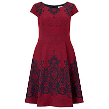 Buy Studio 8 Annalise Dress, Red Online at johnlewis.com
