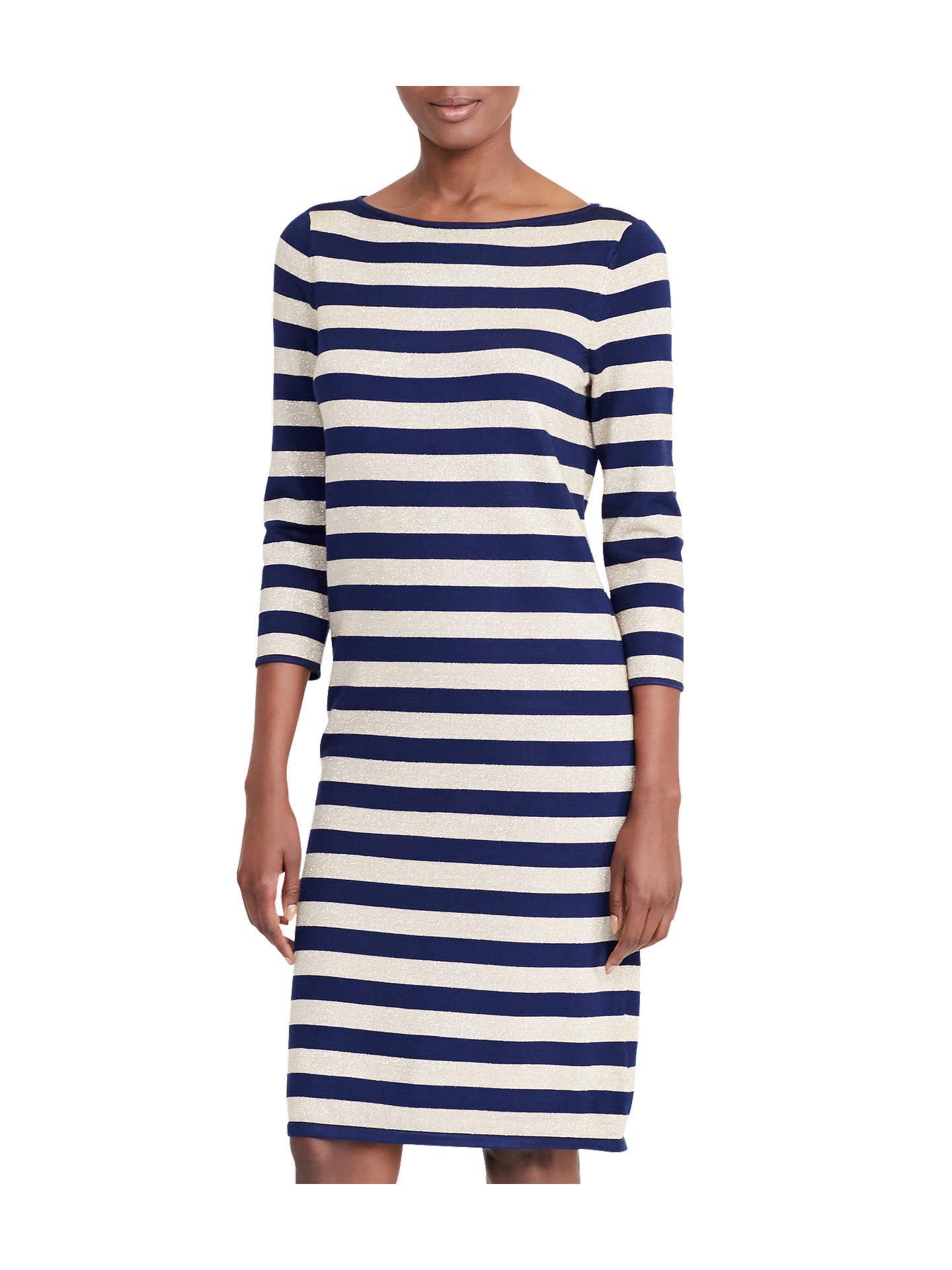 8648d9857fd93 BuyLauren Ralph Lauren Stripe Metallic Dress