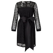 Buy Marella Margot Lace Dress, Black Online at johnlewis.com