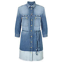 Buy 7 For All Mankind Shirt Dress, Broken Twill Online at johnlewis.com