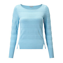 Buy Marella Gea Ribbed Jumper, Turquoise Online at johnlewis.com