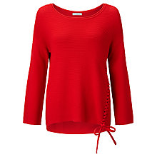 Buy Marella Sorriso Ribbed Jumper, Red Online at johnlewis.com