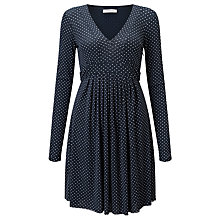 Buy Marella Panfilo Spot Print Dress, Navy Online at johnlewis.com