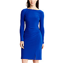 Buy Lauren Ralph Lauren Tailored Jersey Dress, Ace Blue Online at johnlewis.com