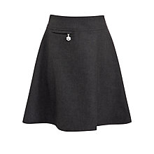 Buy John Lewis Girls' Easy Care Adjustable Waist A-Line School Skirt Online at johnlewis.com