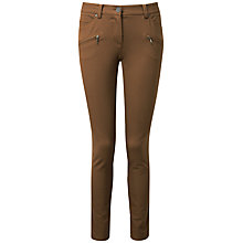 Buy Pure Collection Claire Trousers, Walnut Online at johnlewis.com