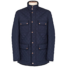 Buy Thomas Pink Harry Quilted Jacket, Navy Online at johnlewis.com