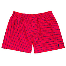 Buy Thomas Pink Hockney Spot Boxer Shorts, Pink/Blue Online at johnlewis.com