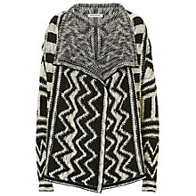 Buy Betty Barclay Monochrome Cardigan, Black/Cream Online at johnlewis.com