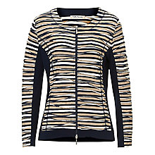 Buy Betty Barclay Striped Cardigan, Dark Blue/Beige Online at johnlewis.com