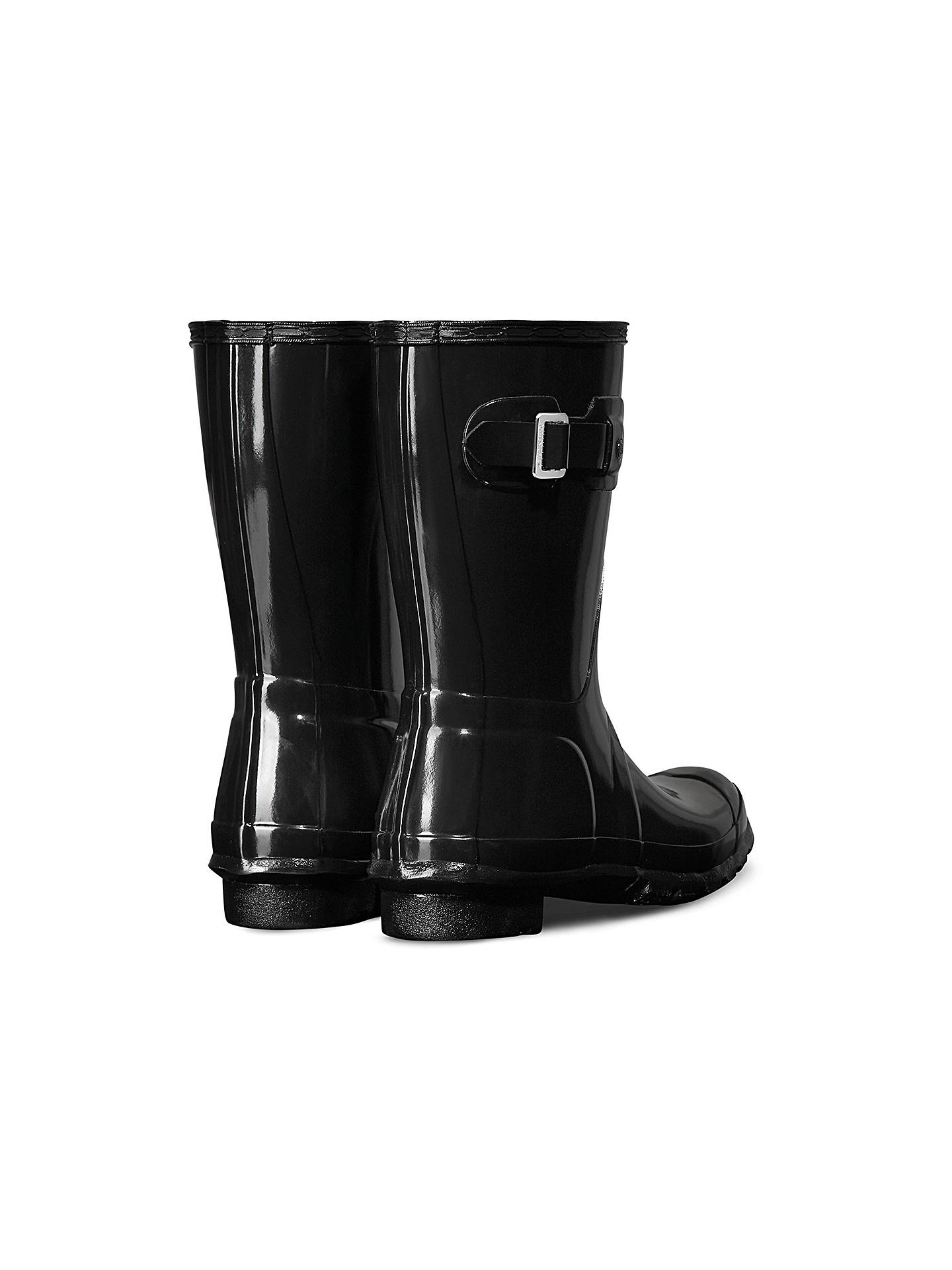 f6c8b0c2f38 Hunter Women's Original Waterproof Short Gloss Wellington Boots ...