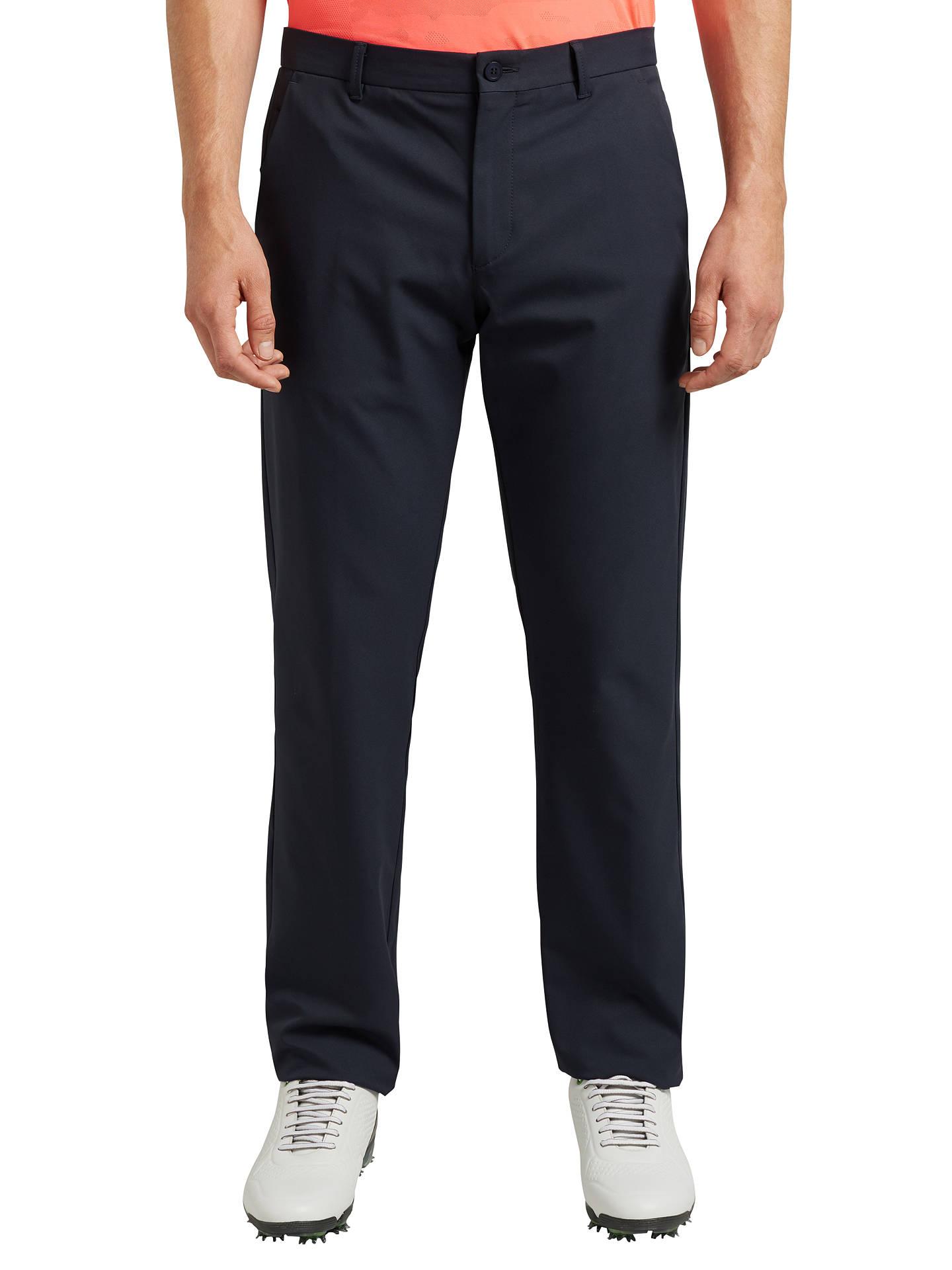 c2b6d630b Buy BOSS Green Pro Golf Hakan Slim Fit Trousers , Navy, 36R Online at  johnlewis ...