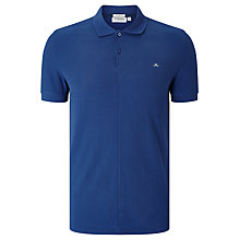 Buy J. Lindeberg Rubi Slim Pique Top Blue Online at johnlewis.com
