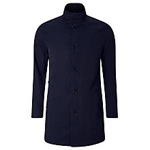Buy J. Lindeberg Terry Twill Coat, Dark Navy Online at johnlewis.com
