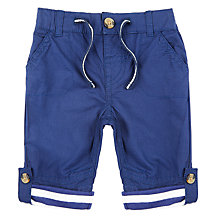Buy John Lewis Baby Drawcord Poplin Combat Trousers Online at johnlewis.com