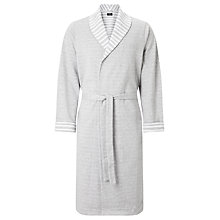 Buy BOSS Pique Robe, Grey Online at johnlewis.com