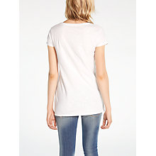 Buy AND/OR Cold Pigment Dye Scoop Neck T-Shirt Online at johnlewis.com
