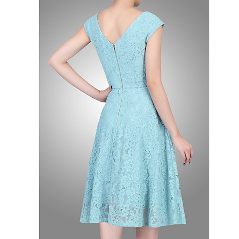 Buy Jolie Moi Sweetheart Neck 50s Lace Dress, Sage Online at johnlewis.com